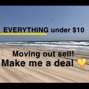 Everything $10 and under!!